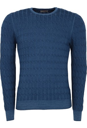 Gran Sasso Erkek Sweatshirt Mavi 5719022735