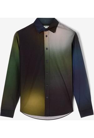 Kenzo Erkek Sweatshirt Yeşil F765PU2103LB
