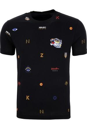 Kenzo Erkek T-Shirt Siyah F765TS0184SL