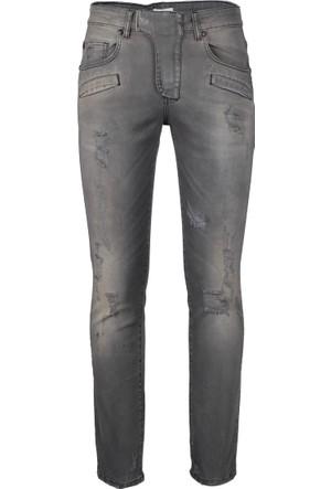 Pierre Balmain Jeans Erkek Kot Pantolon Mavi HP57205J37265