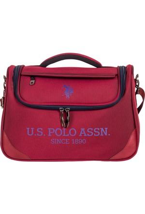 U.S. Polo Assn. Makyaj Çantası Plmkyj7620 Bordo