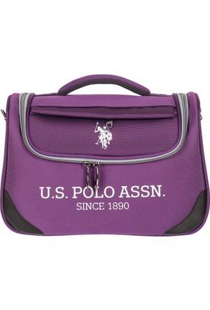 U.S. Polo Assn. Makyaj Çantası PLMKYJ7621 Mor
