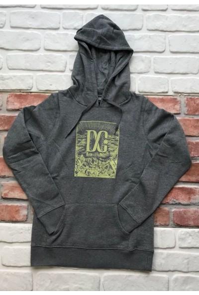Dc Board Ph Frst Gry Kadın Sweatshirt