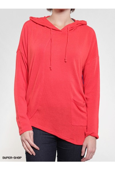 Volcom Voices Carry Pullover Red Kadın Kazak