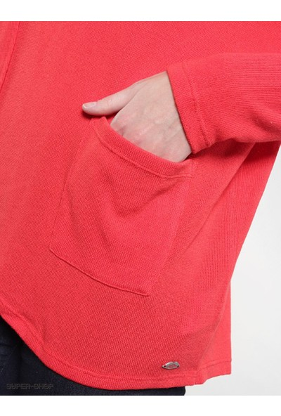 Volcom Voices Carry Pullover Red Kadın Kazak