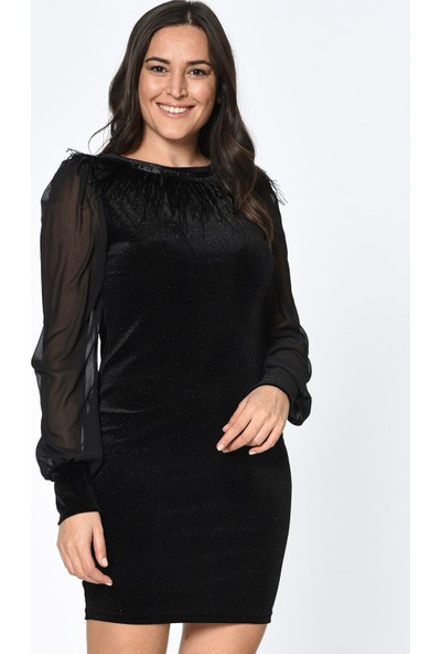 Lir Kadın Elbise Siyah 1320