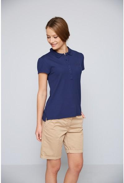 U.S. Polo Assn. Kadın Tpng-Iy07 T-Shirt Lacivert