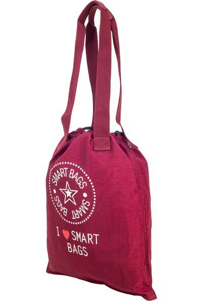 21K Smart Bags İp Askılı Sırt Çantası BRC1129-0021 Bordo