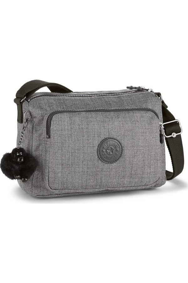 Kipling Reth Shoulder Bag Cotton Plus Basic Gray K70098-D03