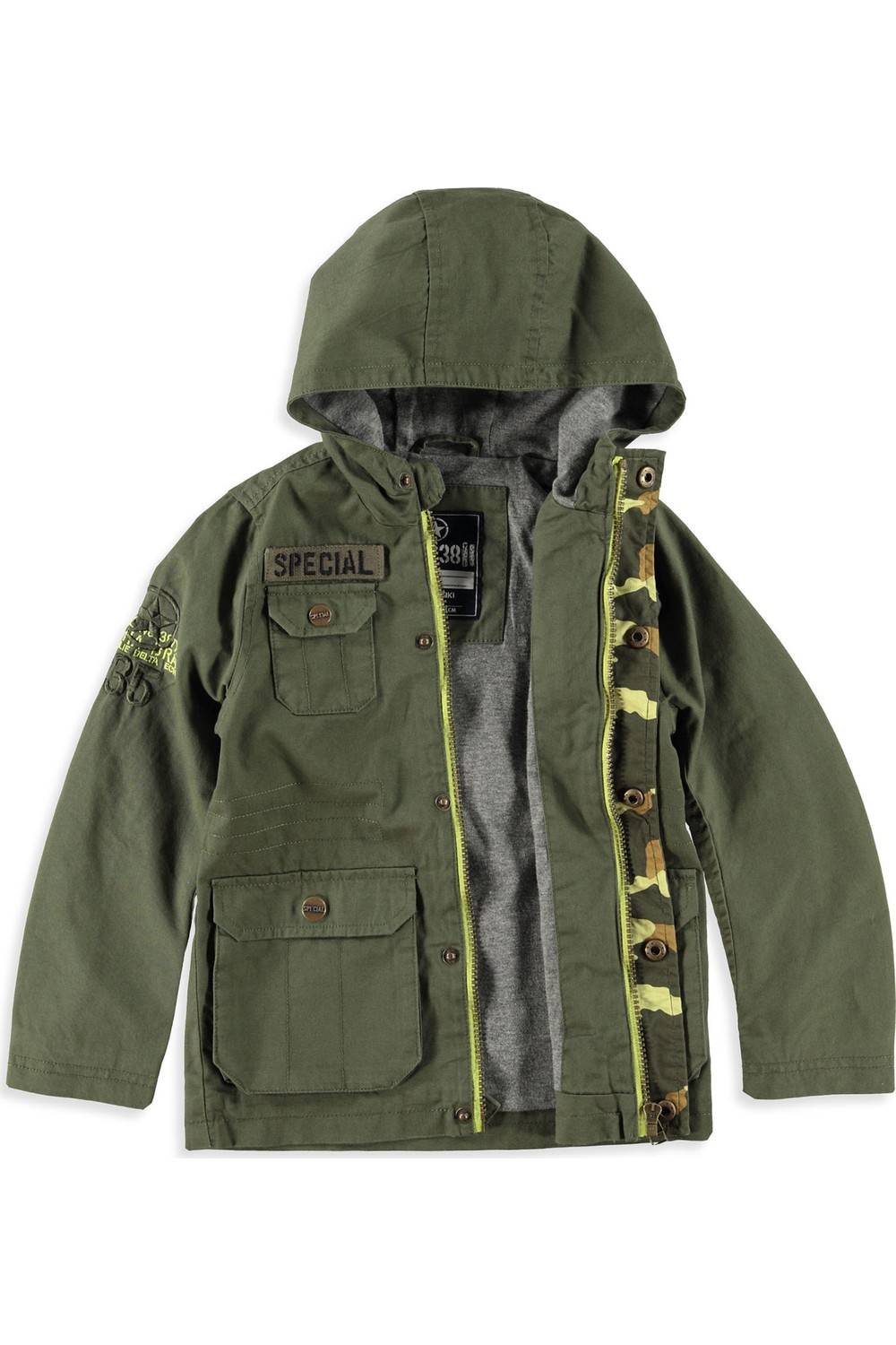 LC Waikiki Kids' Jacket with Embroidered Details