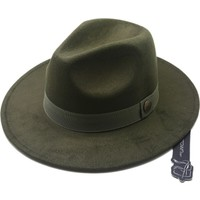 Modamarka Shop Erkek Yün Fötr Şapka Haki