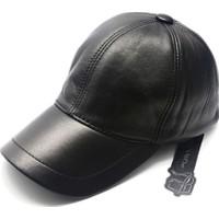 Modamarka Shop Erkek Kep Hakiki Deri Şapka