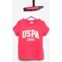 U.S. Polo Assn. Kız Çocuk Vean T-Shirt Kırmızı