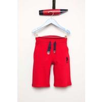 U.S. Polo Assn. Erkek Çocuk Tejor Şort Kırmızı