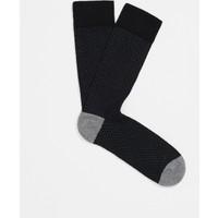 Mavi Siyah Çorap