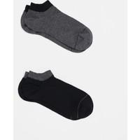 Mavi İkili Paket Siyah Çorap