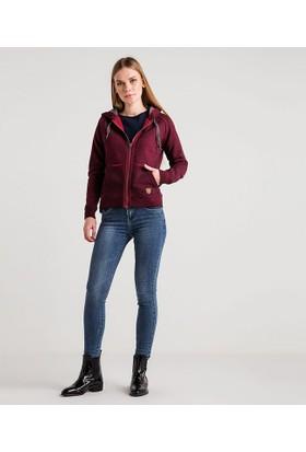 Home Store Kadın Kapüşonlu Sweatshirt