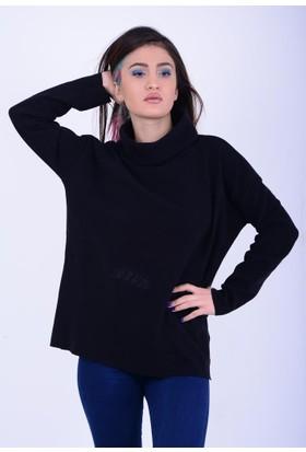 Lustrin Kadın Balıkçı Yaka Bluz 17-2B633042