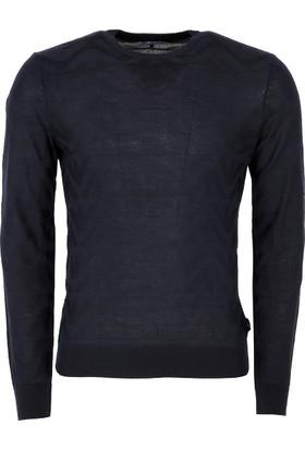 Armani Jeans Erkek Sweatshirt Lacivert 6Y6MD86M22Z