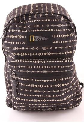 National Geographic N09101 Erkek Sırt Çantası Baskılı Siyah