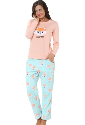 Özkan Underwear Welsoft Kadın Pijama Takımı 23580