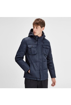Jack & Jones Padded Puffer Jacket Lacivert