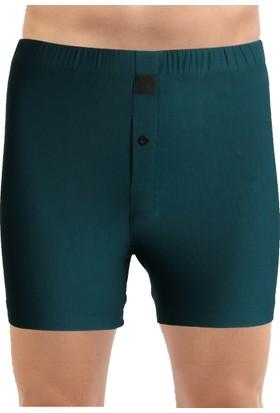 TheDON Koyu Yeşil Jersey Penye Örme Boxer