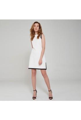 Ribellion Yırtmacı Fermuarlı Elbise 17YKE 23