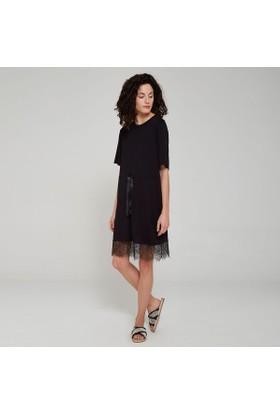 Ribellion Dantel Detaylı Elbise 17YKE 52