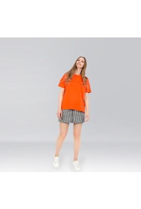 Ribellion Yuvarlak Yaka Kısa Kol T-Shirt 17YKT 139