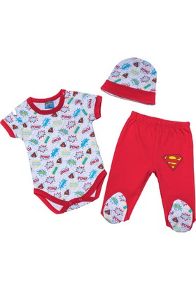 Superbaby Bebek 3'lü Set 10533