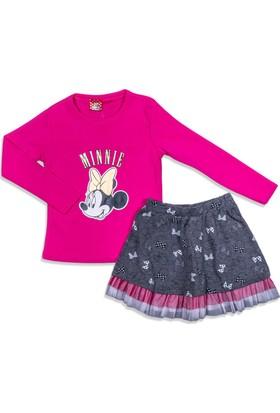 Disney Minnie Mouse Çocuk Etekli Takım 12665