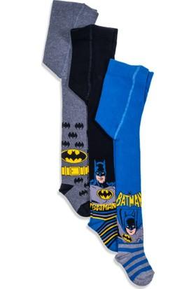 Batman 3'lü Çocuk Külotlu Çorap 12457
