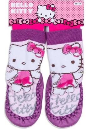 Hello Kitty Bebek Patikli Çorap 12521