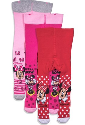 Disney Minnie Mouse Bebek Havlu Külotlu Çorap 9750
