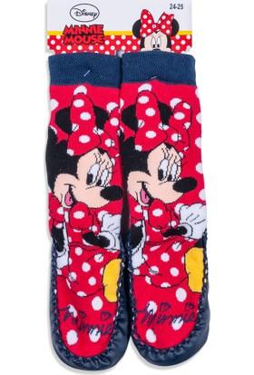 Disney Minnie Mouse Bebek Patikli Çorap 12520