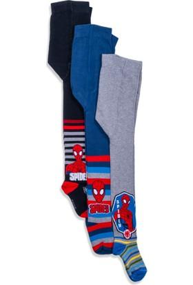 Spiderman 3'lü Çocuk Külotlu Çorap 12454