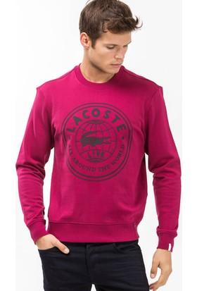 Lacoste Erkek Pembe Sweatshirt SH8399.SRD