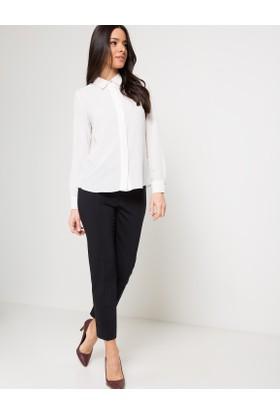 Pierre Cardin Kadın Bluz Uzun Kol