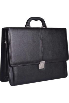 Nossen EV-27001 Siyah Modern Tasarım Erkek İş & Ofis Evrak Çantası