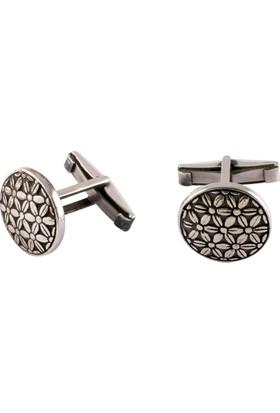 Akyüz Gümüş 925 Ayar Gümüş Kol Düğmesi