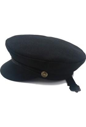 Modamarka Shop Kadın Kaptan Stili Trend Şapka