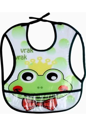 Missemo Kurbağa Baskılı Su Geçirmez Önlük
