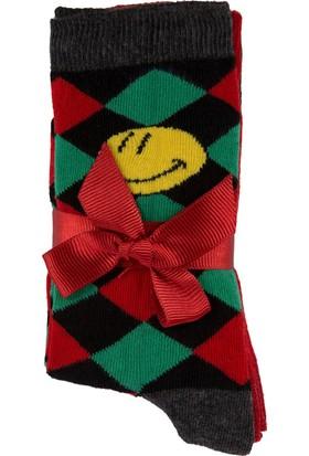 DeFacto Kadın 3'lü Çorap Seti Siyah