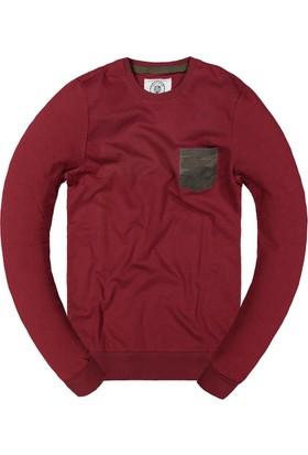 Phazz Brand Cepli Sweatshirt 5097 Bordo