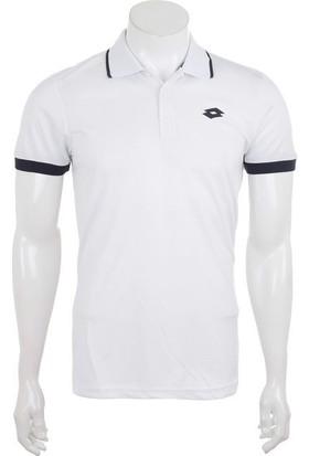 Lotto Court Pl Erkek Beyaz Polo Tişört (N1727)