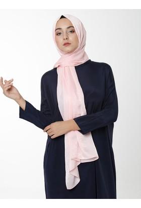 Argite Eşarp Mina Serisi Şal Pudra
