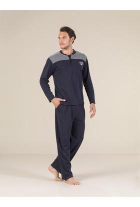 Estiva 17409 İnterlok Erkek Pijama Takım