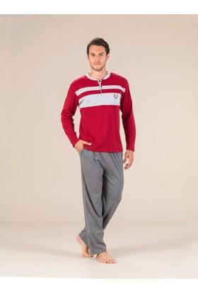 Estiva 17405 İnterlok Erkek Pijama Takım