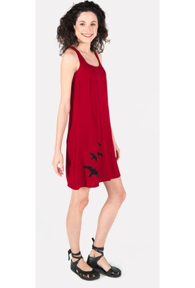 Clandestino Nakışlı Elbise